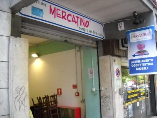 Il mercatino dell usato thrift stores via tarquinio for Il mercatino roma