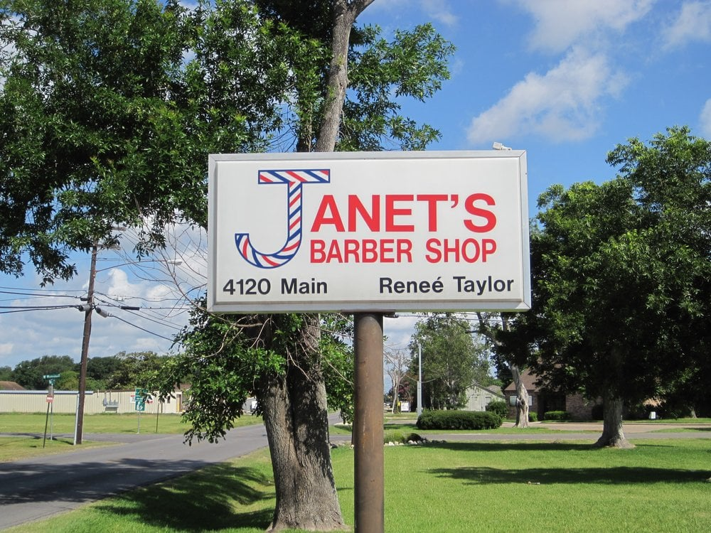 Janet's Barber Shop: 4120 Main Ave, Groves, TX