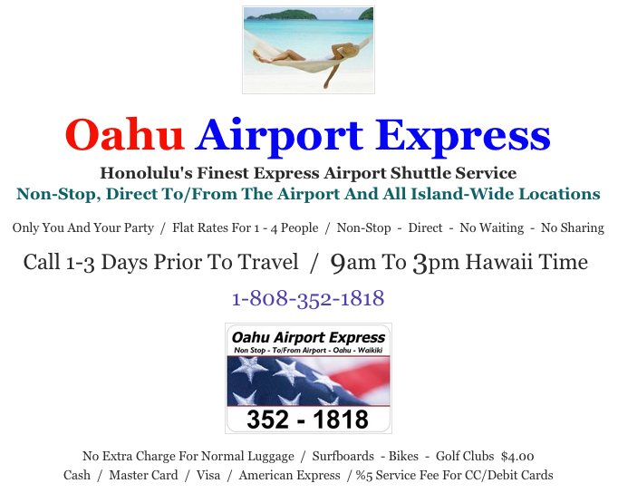 Oahu Airport Express