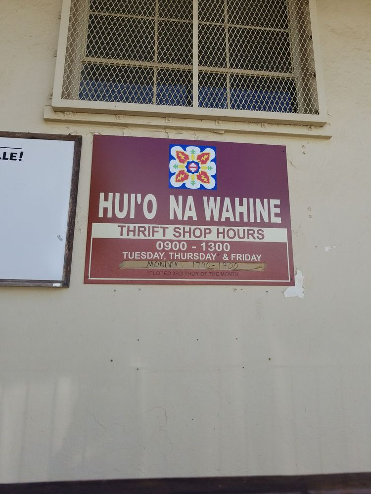 Schofield Thrift Shop/Hui 'O Na Wahine