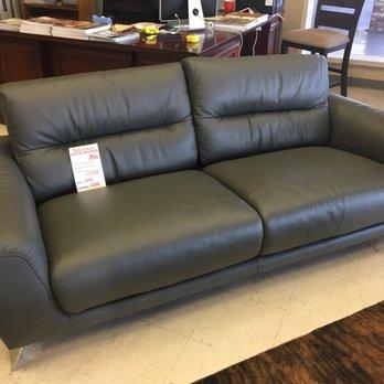 Photo Of Rooms Resources   San Jose, CA, United States. Italian Leather Sofa