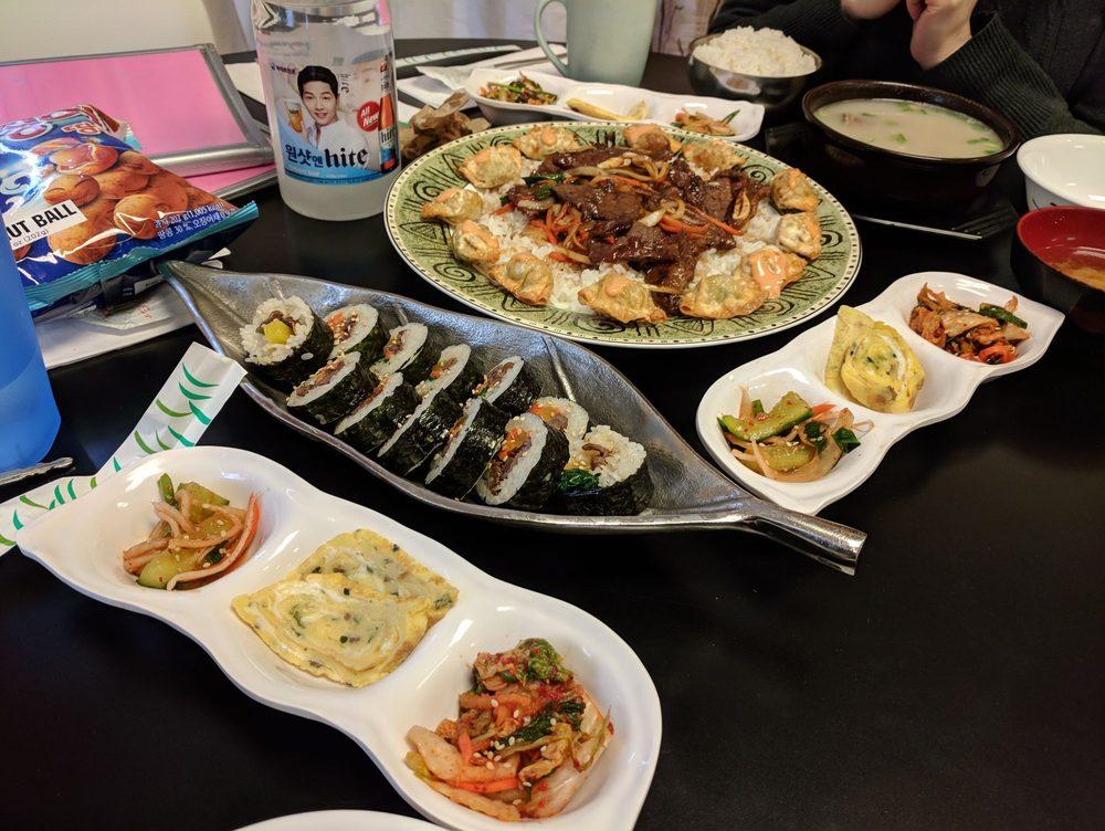Food from Manna Korean Cuisine