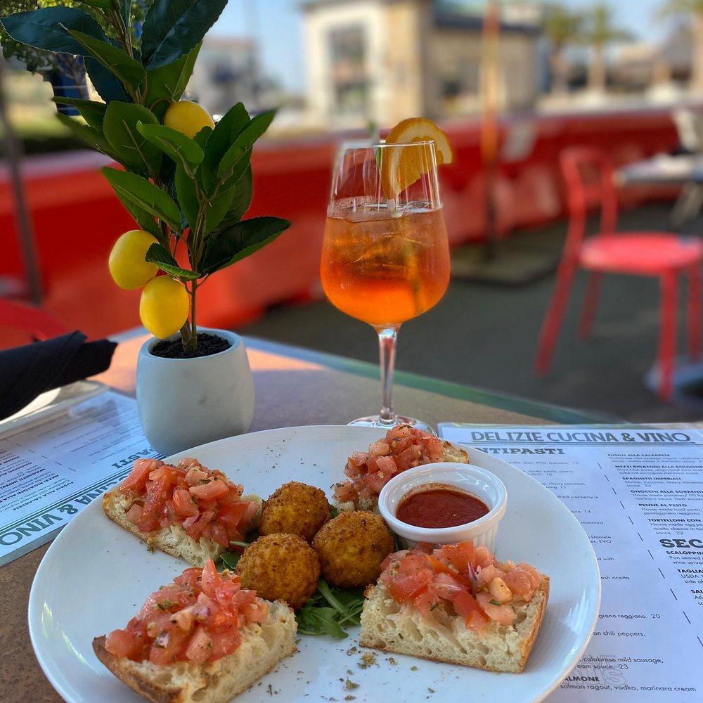 Delizie Cucina & Vino: 1107 San Carlos Ave, San Carlos, CA