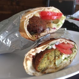 Photo Of Sultana Middle Eastern Restaurant Orlando Fl United States Falafel Wrap