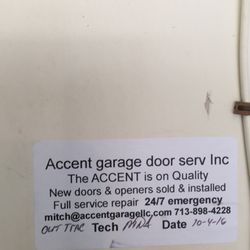 Photo Of Accent Garage Doors   Manvel, TX, United States