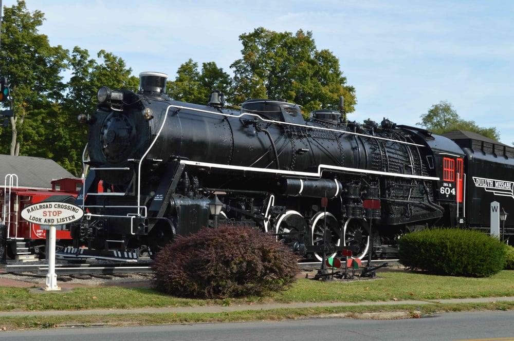 Greenville Railroad Museum Park: 314 Main St, Greenville, PA