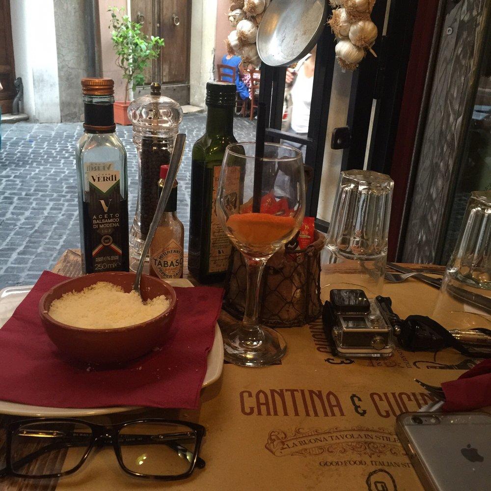 Cantina e cucina 88 photos 80 reviews italian via del governo vecchio 87 centro storico - Cucina e cantina ...