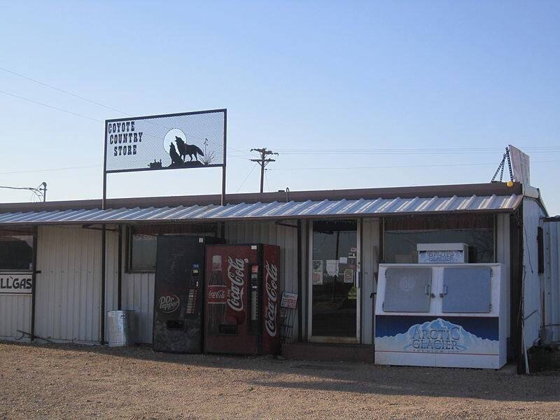 The Coyote Store: 100 W Wasson Road, Gail, TX
