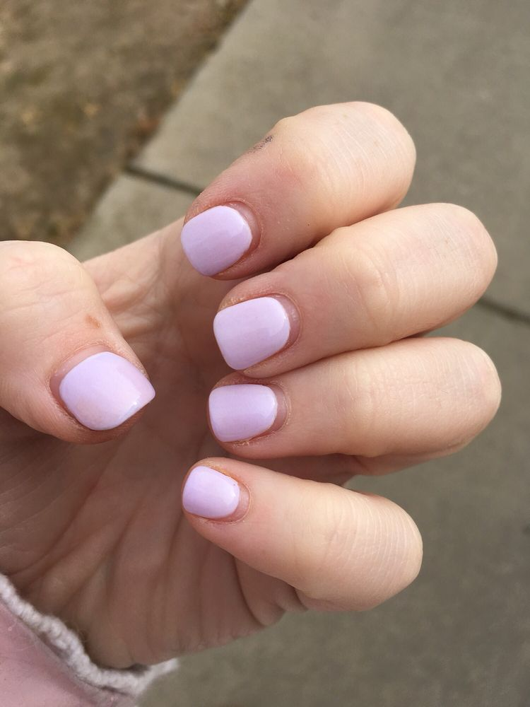 My dip nails after three weeks! - Yelp