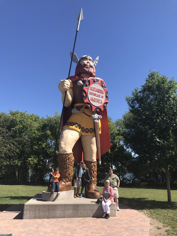 Big Ole Viking Statue: 207 Broadway St, Alexandria, MN