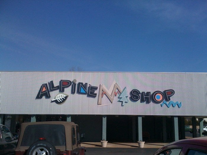 Alpine Shop: 440 N Kirkwood Rd, Kirkwood, MO