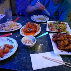 Photo Of Hiness Chinese Restaurant Spokane Wa United States Family Meal