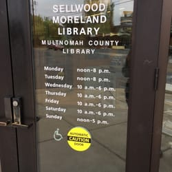 Photo of Multnomah County Library - Sellwood-Moreland - Portland OR United States & Multnomah County Library - Sellwood-Moreland - 12 Reviews ...