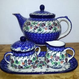 Polish Pottery Never Too Much Polisch Pottery Trivet
