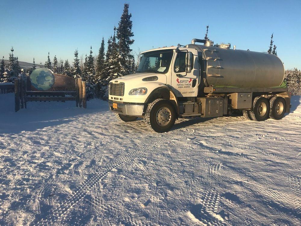 Bigfoot Pumping & Thawing: 2609 S Goldenrod Cir, North Pole, AK