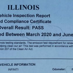 Illinois Emissions Test Near Me >> Illinois Emissions Testing Station 27 Reviews Smog Check