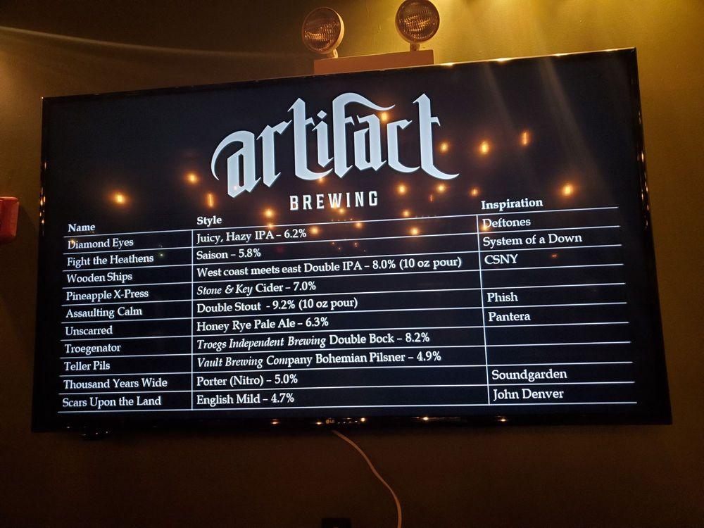 Artifact Brewing: 2 S York Rd, Hatboro, PA