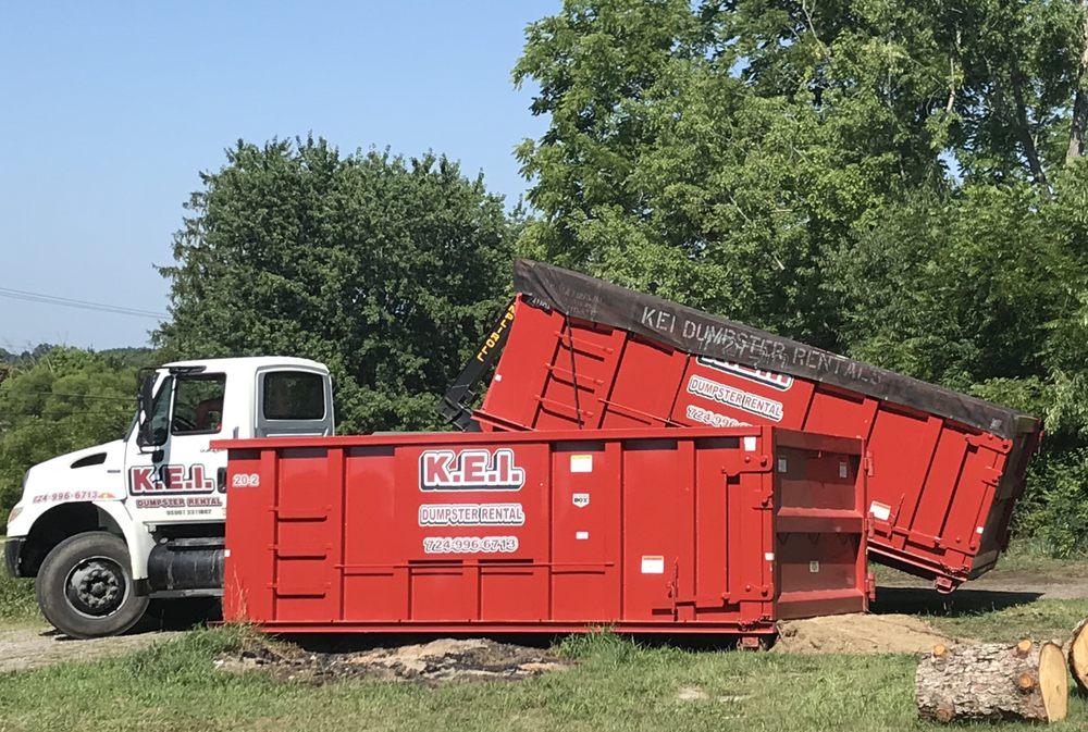 KEI Dumpster Rental: 106 Harper Rd, Chicora, PA