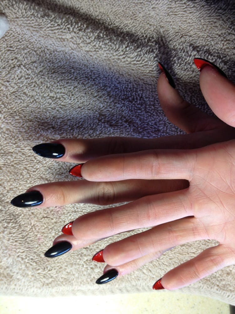 Love these nails done by Terrisa - Yelp