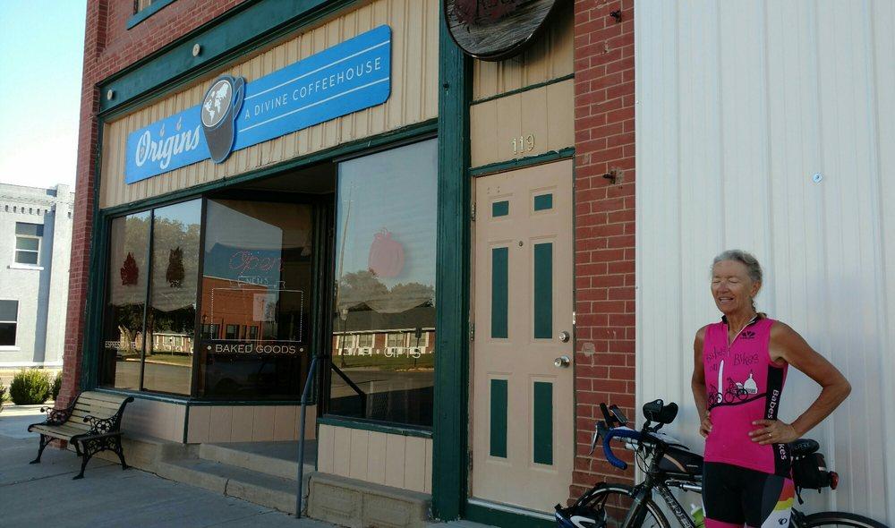Origins: A Divine Coffeehouse: 121 N Main St, Haviland, KS