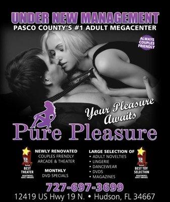 pleasure mega center Pure