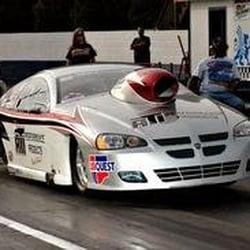Jerry Bickel Race Car Automotive Raceway Park Dr Moscow