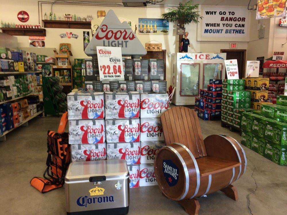 Mt. Bethel Beverage: 3 Mount Bethel Plz, Mount Bethel, PA