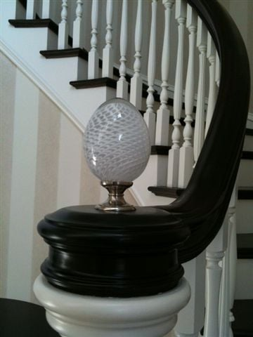Etonnant Brehat Glass Banister Finial Used In One Of Our Regular ...