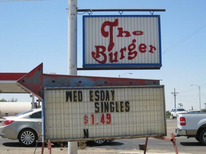 The Burger: 205 S Cedar St, Borger, TX
