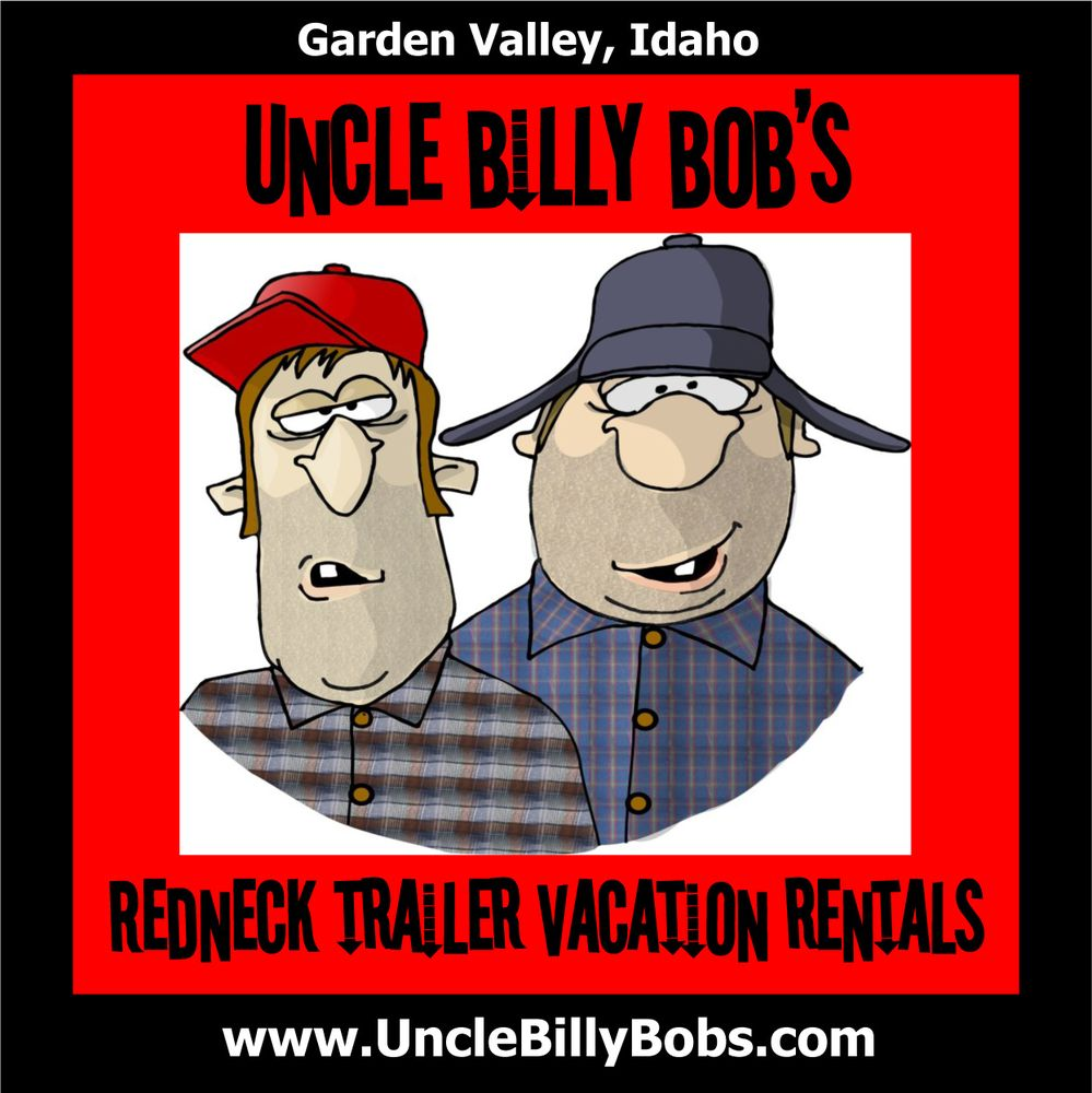 Uncle Billy Bob's Redneck Trailer Vacation Rentals: 609 South Middlefork Rd, Garden Valley, ID
