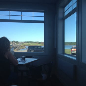 Photo Of Helen S Restaurant Machias Me United States Nice View From The