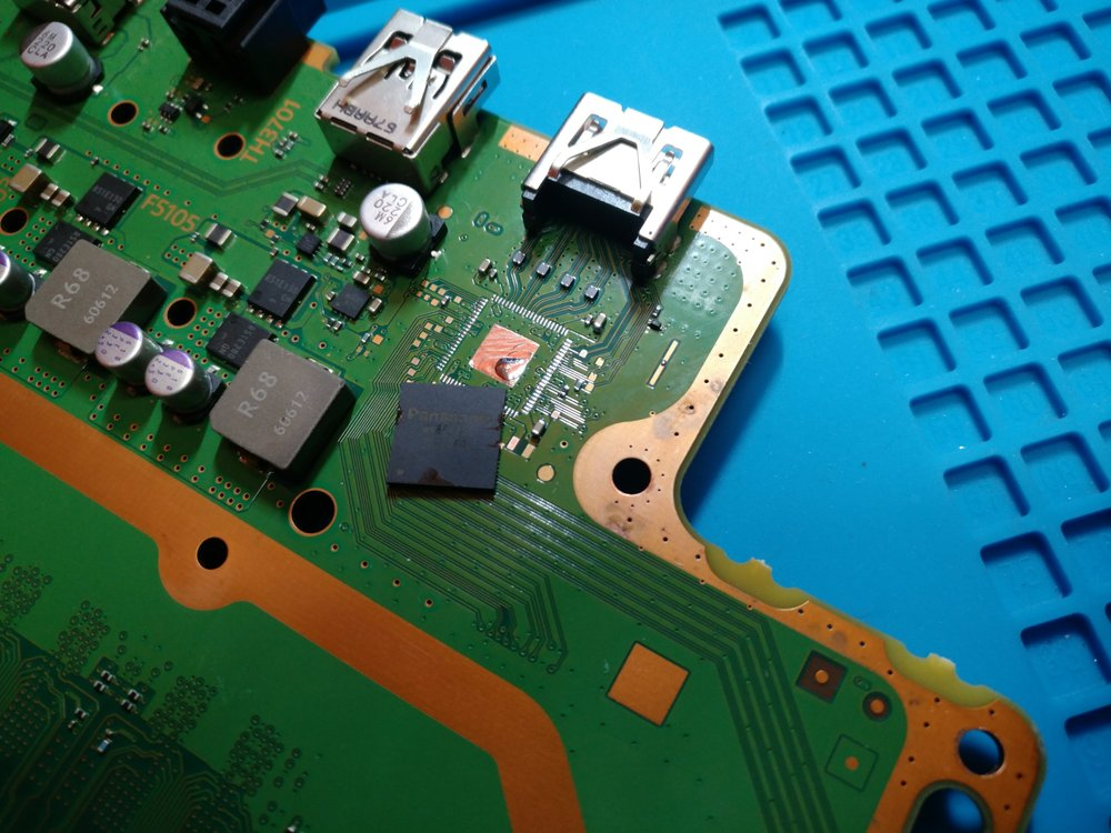 Playstation 4 Pro that required HDMI encoder IC replacement - Yelp