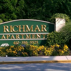 Photo Of Richmar Apartments   Owings Mills, MD, United States. Richmar  Apartments Sign ...