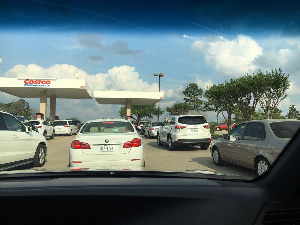 Costco Gasoline: 1150 Bunker Hill Rd, Houston, TX