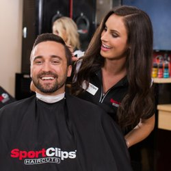 The Sport Clips experience includes sports on TV, legendary steamed towel treatment, and a great haircut from our guy-smart hair stylists who specialize in .