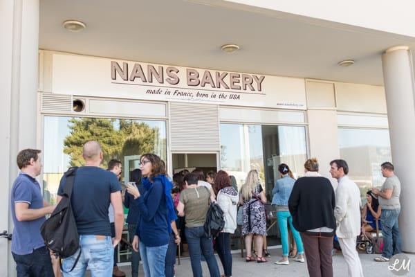 Photo of Nans Bakery , Castelnau,le,Lez, Hérault, France. Inauguration.  Inauguration de la pâtisserie