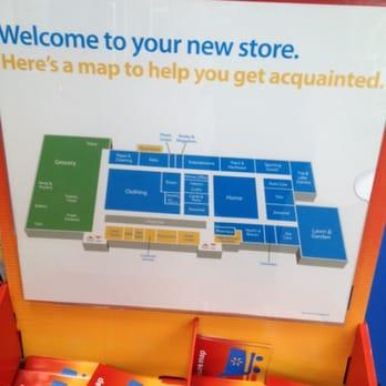 Walmart Supercenter Store Layout
