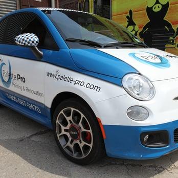 Fiat 500 Vehicle Wrap Yelp