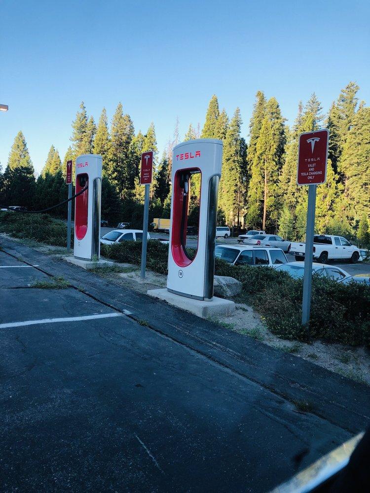 Tesla Supercharger: 1122 Highway 41, Fish Camp, CA