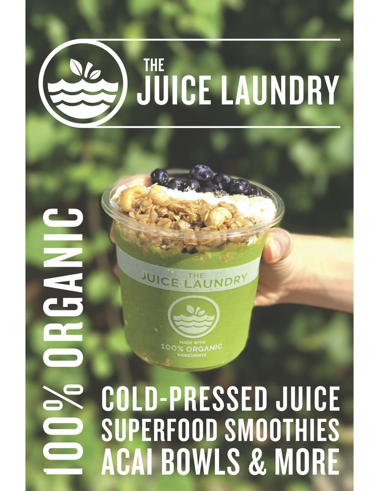 Food from The Juice Laundry RVA