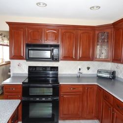 Photo Of All Pro Painting   West Hempstead, NY, United States. Kitchen  Cabinets