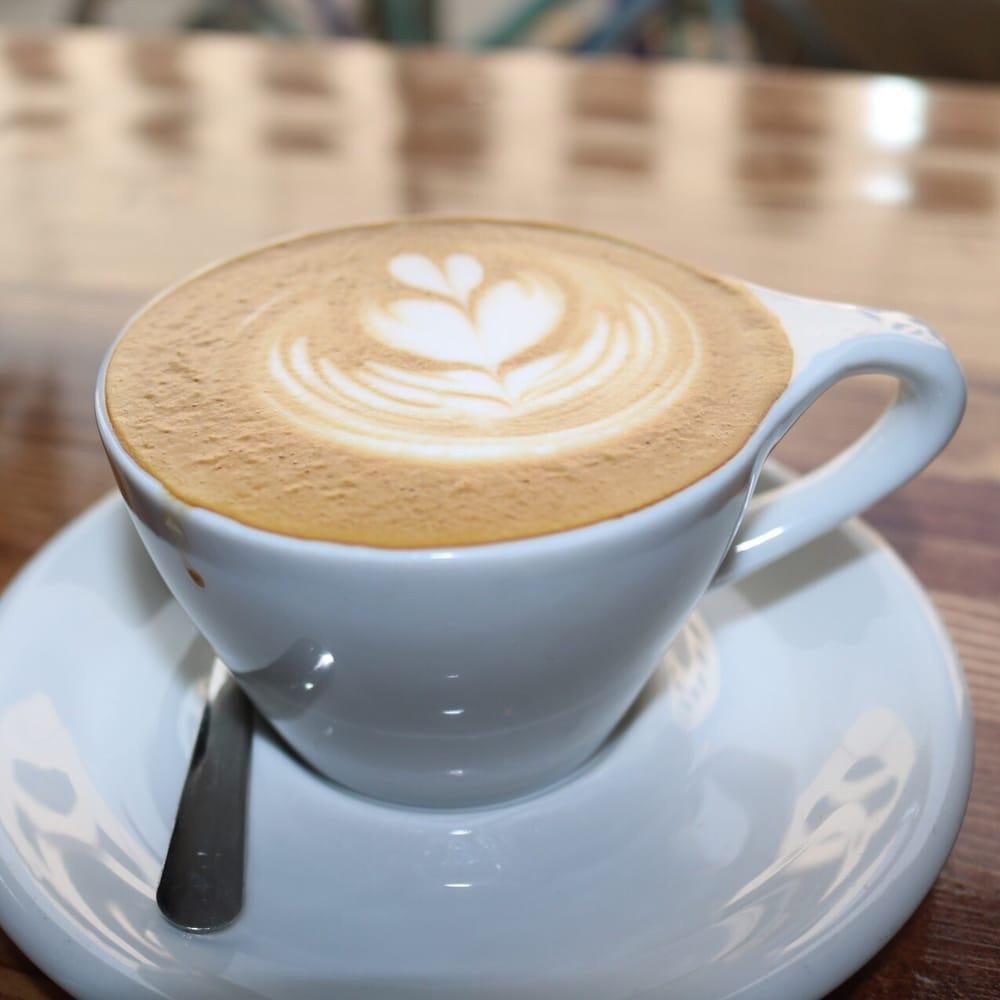 High Five Coffee Bar: 13 Rankin Ave, Asheville, NC