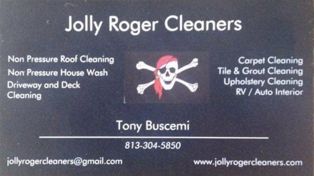 Jolly Roger Cleaners: 744 Flamingo Dr, Apollo Beach, FL