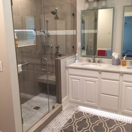 Tile Works Photos Contractors Greensboro NC Phone Number - Bathroom remodeling greensboro nc