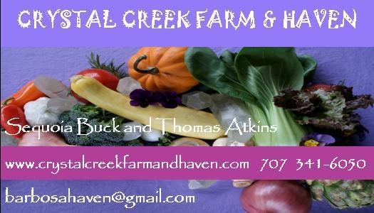 Crystal Creek Farm and Haven: 5140 Sharp Rd, Calistoga, CA