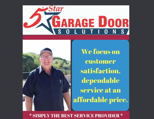 5 Star Garage Door Solutions