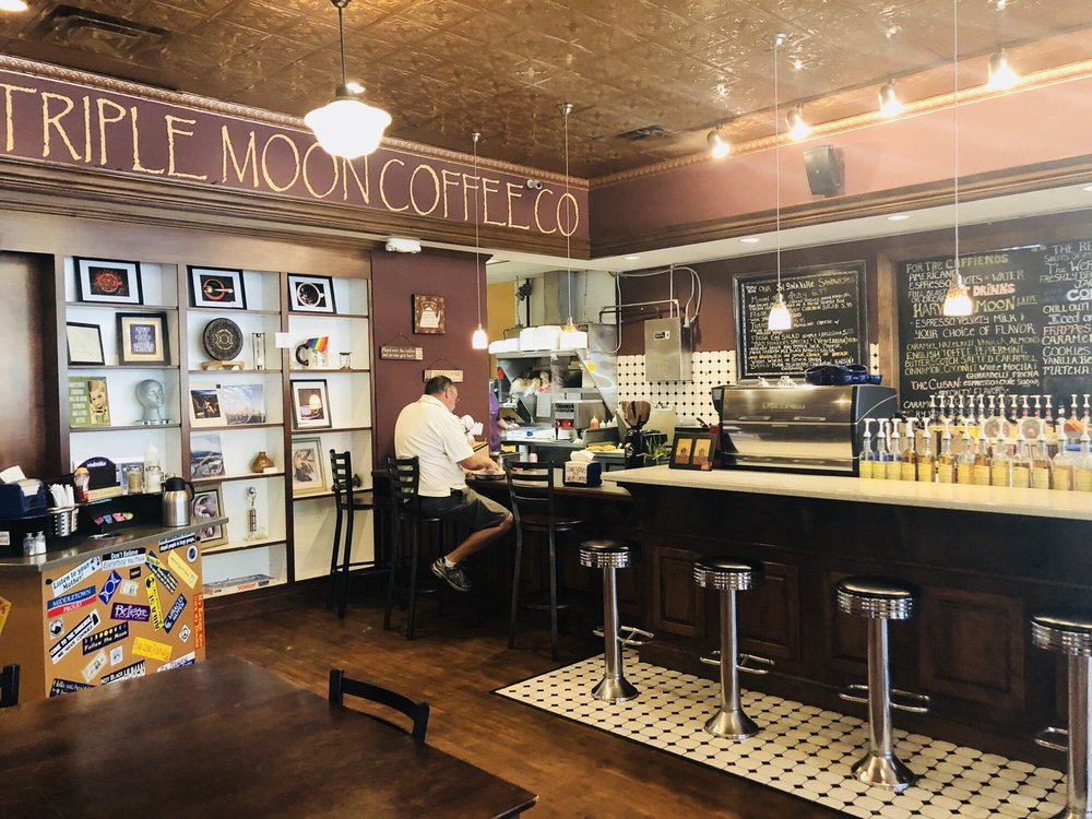 Triple Moon Coffee Company: 1100 Central Ave, Middletown, OH
