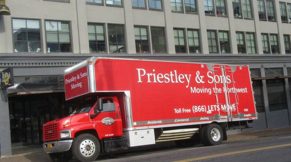 Priestley & Sons Moving & Storage: 2255 NW Birdsdale Ave, Gresham, OR