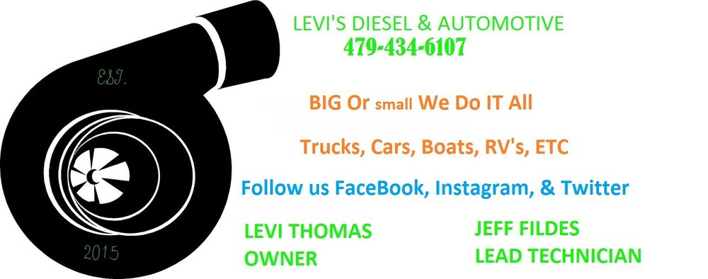 Levi's Diesel And Automotive: 6004 Hwy 271 S, Fort Smith, AR