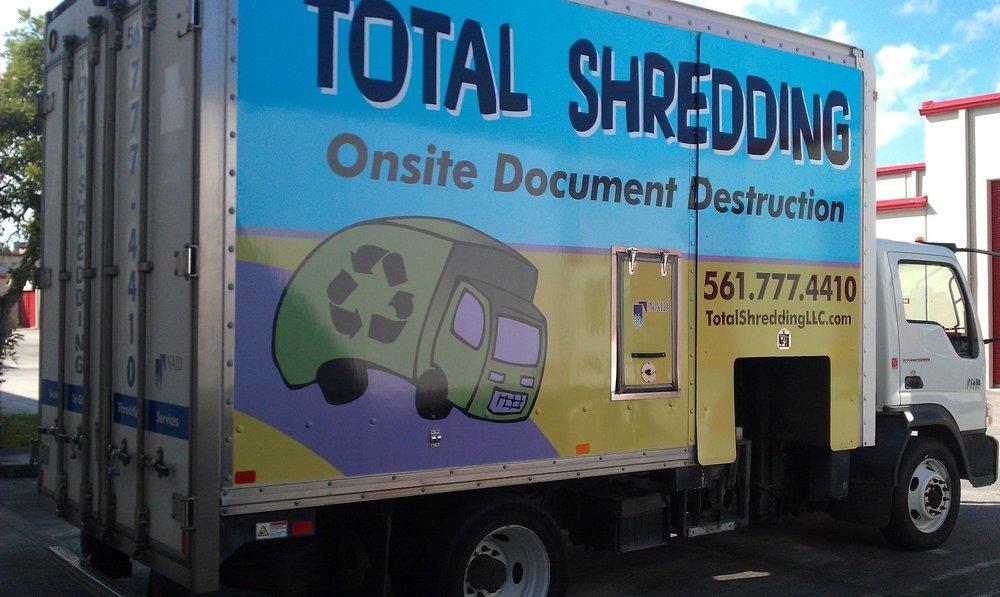 Total Shredding: West Palm Beach, FL